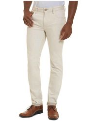 Robert Graham - Gonzales Straight Fit Jeans In Off-white - Lyst