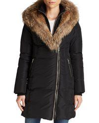 Mackage - Fur-trimmed Trish Down Coat - Lyst