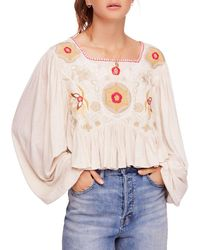 Free People - Claudine Top - Lyst