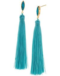 Gorjana - Palisades Tassel Drop Earrings - Lyst
