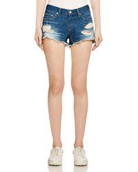 Rag & Bone - Cutoff Denim Shorts In Freeport - Lyst