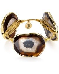 Bourbon and Boweties - Agate Station Bangle - Lyst