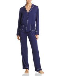 Splendid - Intimates Piped Pajama Set - Lyst