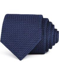 Turnbull & Asser - Grenadine Solid Silk Classic Tie - Lyst