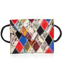 Elizabeth and James - Penpal Patchwork Medium Leather Belt Bag - Lyst
