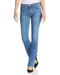 J Brand - Selena 32 Mid Rise Bootcut Jeans In Lovesick - Lyst