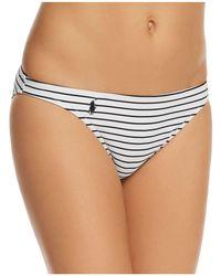 Ralph Lauren - Resort Taylor Hipster Bikini Bottom - Lyst