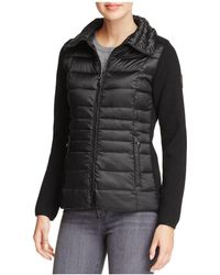 Vince Camuto | Lightweight Down & Knit Jacket | Lyst