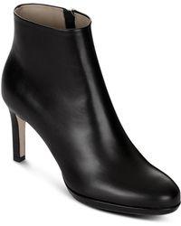 Hobbs - Julietta Leather High Heel Booties - Lyst