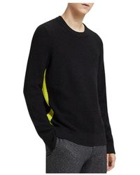 Theory - Winlo Textured Jumper - Lyst