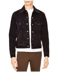 Sandro - Rider Denim Jacket - Lyst