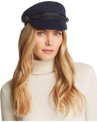 August Hat Company - Herringbone Flat Cap - Lyst