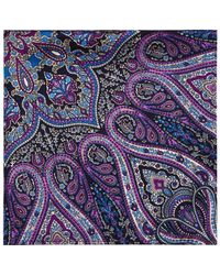 Bloomingdale's - Paisley Pocket Square - Lyst