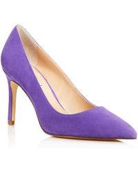 Charles David - Women's Denise Suede Pointed Toe High-heel Court Shoes - Lyst