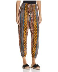 Band Of Gypsies - Native Tapestry Inspired-print Trousers - Lyst