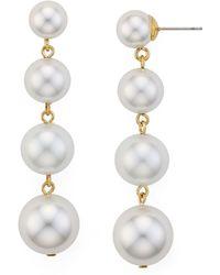 Rebecca Minkoff - Statement Sphere Drop Earrings - Lyst