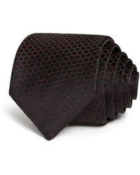 John Varvatos - Honeycomb Silk Classic Tie - Lyst