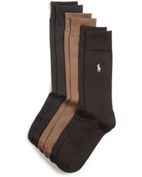 Polo Ralph Lauren - Solid Dress Socks - Lyst