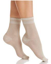 Hue - Sporty Mesh Socks - Lyst
