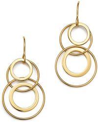 Bloomingdale's - 14k Yellow Gold Doubling Duo Earrings - Lyst