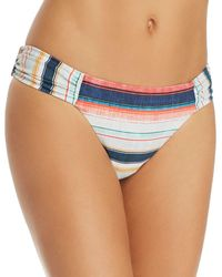 Lucky Brand - Sonora Shirred Side Hipster Bikini Bottom - Lyst