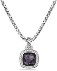 David Yurman   Albion Pendant With Lavender Amyethst And Diamonds   Lyst