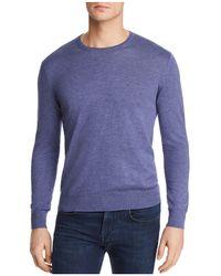 Bloomingdale's - Cotton Blend Crewneck Sweater - Lyst