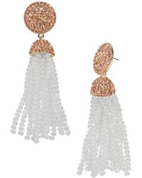 BaubleBar - Elle Tassel Earrings - Lyst