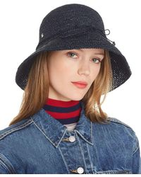 796797a648618 Helen Kaminski Vahlla Bucket Hat in Black - Lyst