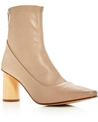 LOQ - Women's Vero Leather Pointed Toe Booties - Lyst