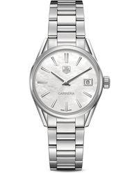 Tag Heuer - Carrera Steel Bracelet Watch, War1311ba0778 - Lyst