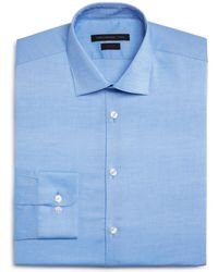 John Varvatos - Basic Solid Slim Fit Dress Shirt - Lyst