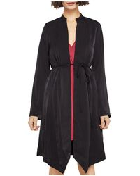 BCBGeneration - Belted Satin Robe - Lyst