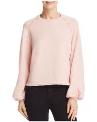 Project Social T - Wilson Blouson Sleeve Sweatshirt - Lyst