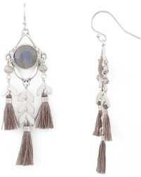 Chan Luu - Tassel Drop Earrings - Lyst