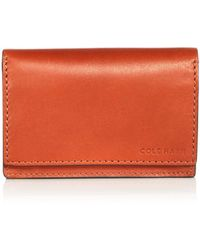 Cole Haan - Lawford Leather Card Case - Lyst