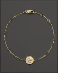 KC Designs - Diamond Pavé Initial Bracelet - Lyst
