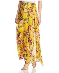 French Connection - Linosa Floral-print Wrap Skirt - Lyst