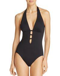 Ralph Lauren - Lauren Beach Knot One Piece Swimsuit - Lyst