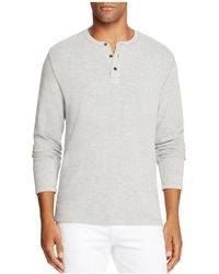 Surfside Supply | Long Sleeve Henley Shirt | Lyst