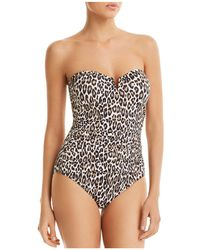 Tommy Bahama - Cat's Meow V-wire One Piece Swimsuit - Lyst