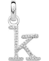 Links of London - Alphabet K Charm - Lyst