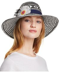 Echo - Wow Appliquéd Panama Hat - Lyst