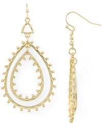 Aqua - Drop Earrings - Lyst