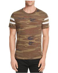 Alternative Apparel - Camouflage Football Tee - Lyst