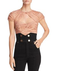 Alice McCALL - Sweetly Lace Crop Top - Lyst
