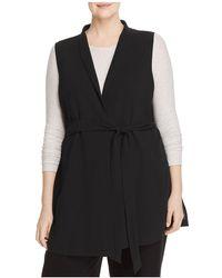 Eileen Fisher - Silk Wrap Vest - Lyst