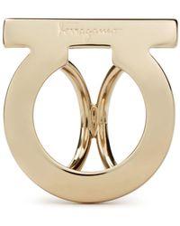 Ferragamo - Logo Scarf Ring - Lyst