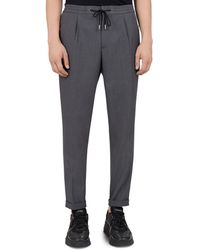 The Kooples - Futuro Relaxed Fit Drawstring Trousers - Lyst