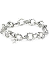 David Yurman - Amulet Oval Link Charm Bracelet - Lyst